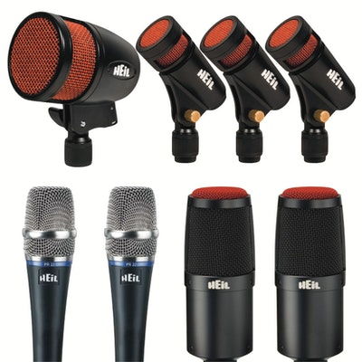 Heil HDK8 Drum Mic Kit