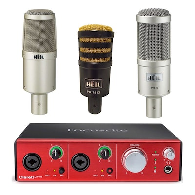 Heil Mic Shootout Kit