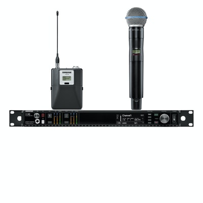 Shure Axient™ Dual AD124 Combo