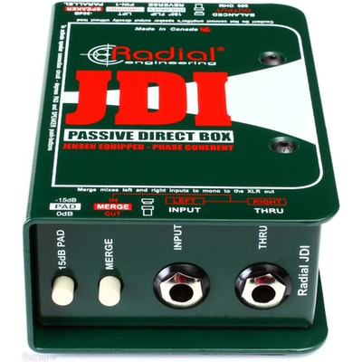Radial JDI™ Passive Direct Box
